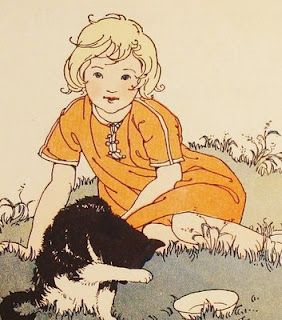 party perfect: ETSY find: vintage children's book illustrations