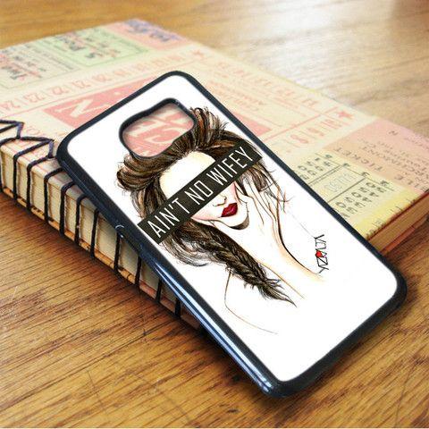 Ain't No Wifey Art Samsung Galaxy S7 Case