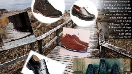 Lo útimo en zapatos con la Colección Clásica y Otoño-Invierno de Florshiem