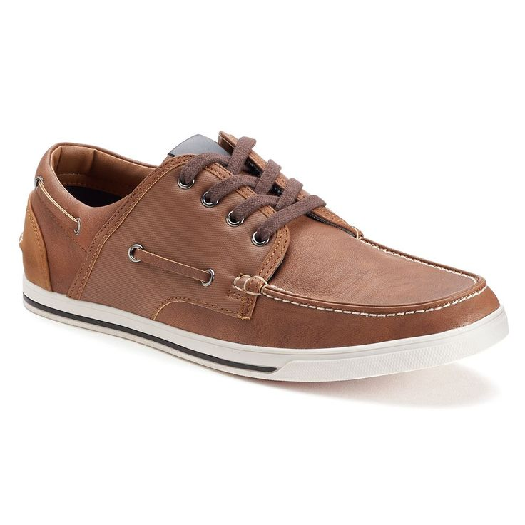 SONOMA Goods for Life™ Royce Men's Oxford Boat Shoes, Size: 10.5, Brown Oth