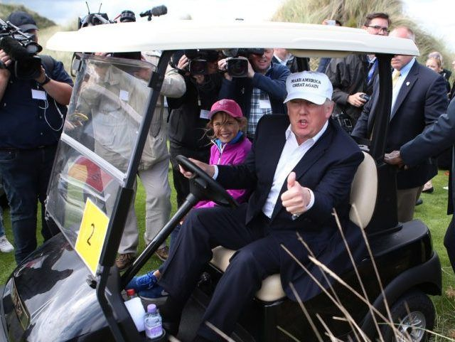 Kicking Money Out of Politics: Trump Boots Koch Brother from Golf Course