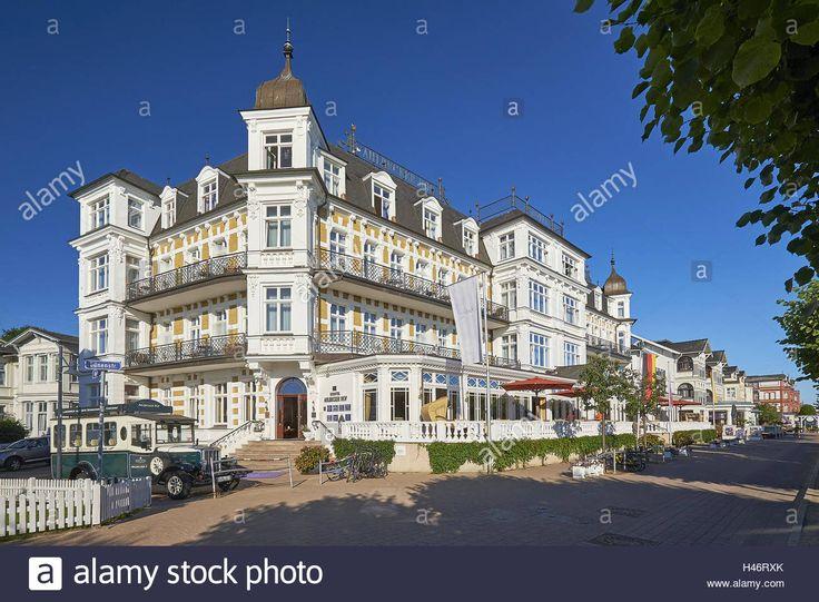 Main Attractions in Mecklenburg Germany | Hotel Ahlbecker Hof in Ahlbeck, Usedom Island Stockfoto ...