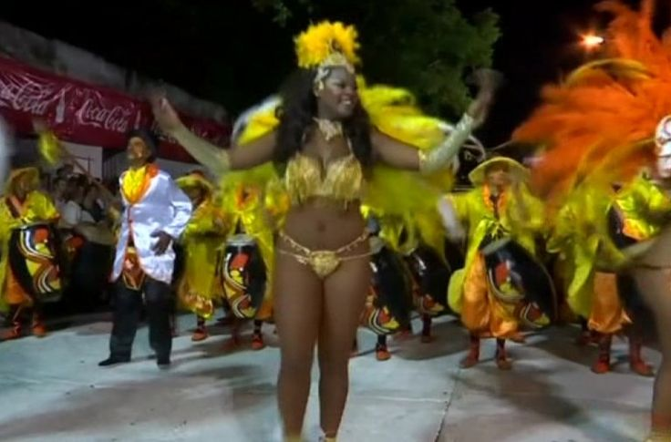 Uruguayans kick off the annual Carnival parade with elaborate costumes, energetic dancing, and African drum beats on the streets of Montevideo. Vanessa Johnston reports.