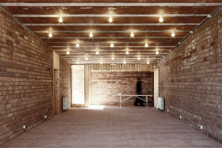 love exposed bricks. and these lights are perfect for low ceiling.                                                                                                                                                                                 More
