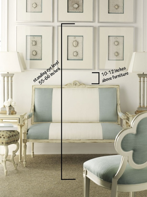 Design is... All in the Detail: How to: Hang Artwork Like a Professional