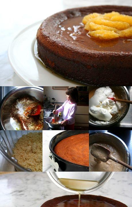 O melhor bolo que eu já comi - Rita Lobo Bolo encharcado de laranja com farinha de amendoas