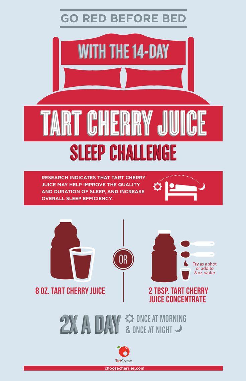 Two Weeks To Better Sleep? A Tart Cherry Juice 14-Day Sleep Challenge - Blissfully Domestic