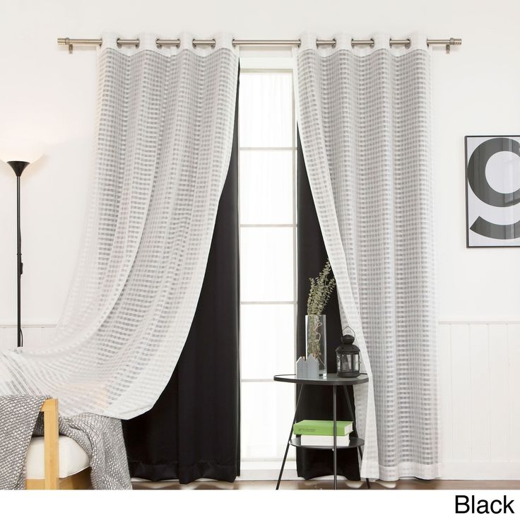 17 Best Ideas About Black And Silver Curtains On