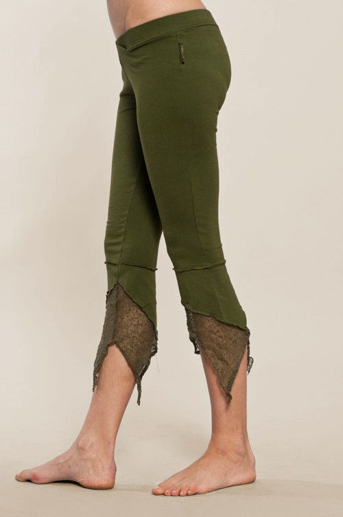 Pointy Pixie leggings - burning man - Perfect Yoga Pants - Fairy Tights