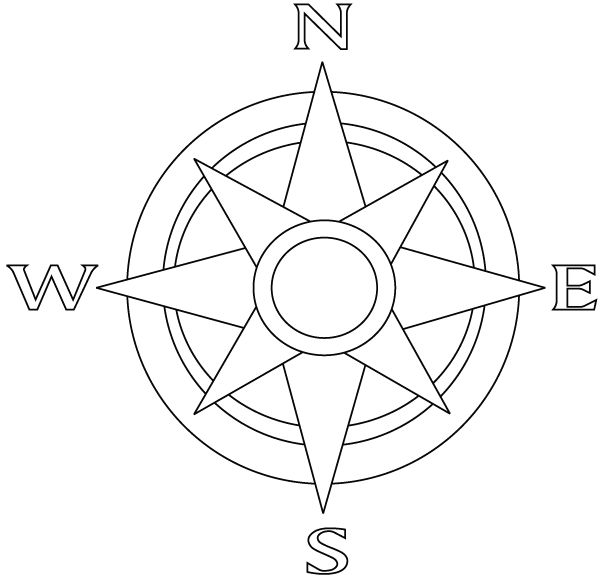 132 best Compass rose images on Pinterest | Compass, Compass rose ...