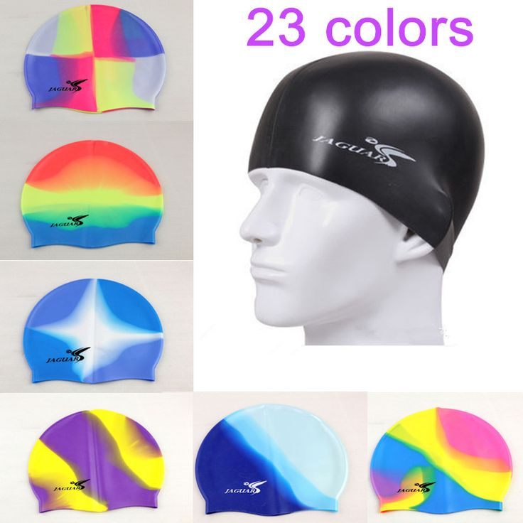 2016 Professional High Quality Silicone Swim Cap Waterproof Protect Ears Long Hair Men Women Adult Hat Sport Pool Cup Free Size #hats, #watches, #belts, #fashion, #style