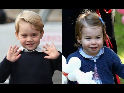 Princess Charlotte and Prince George: future Olympians in the making?