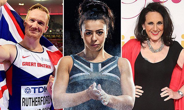 Greg Rutherford,Tameka Empson Lesley Joseph join Strictly Come Dancing