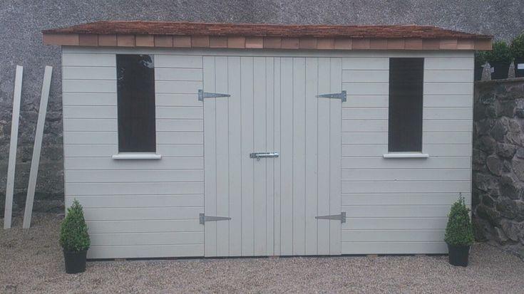 17 best images about shed on pinterest gardens bespoke for Bespoke garden sheds