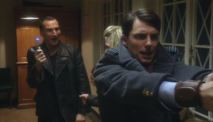 """Jack Harkness - who looks at a screwdriver and says, """"Ooh, this could be a little more sonic?"""""""