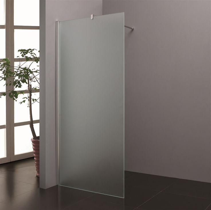 Blinq Shower inloopdouche melkgas/matglas
