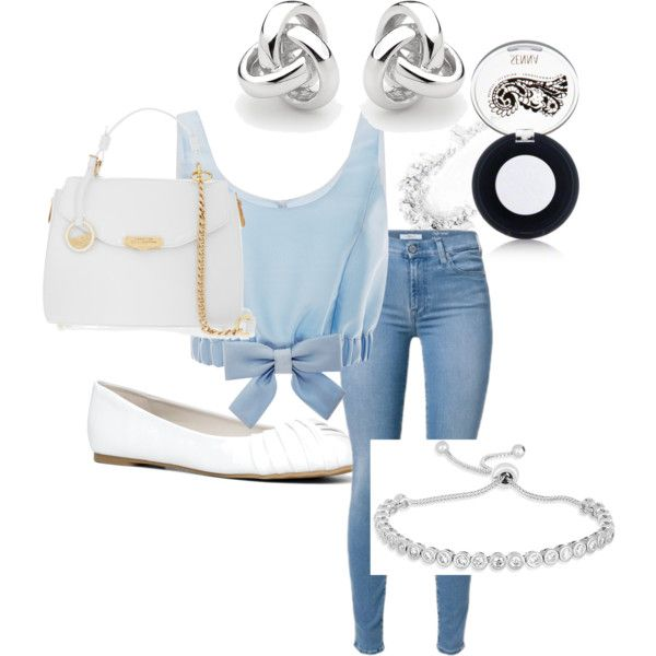 Cinderella by rowniezhao on Polyvore featuring polyvore, fashion, style, Honor, ALDO, Versace, Georgini and Senna Cosmetics