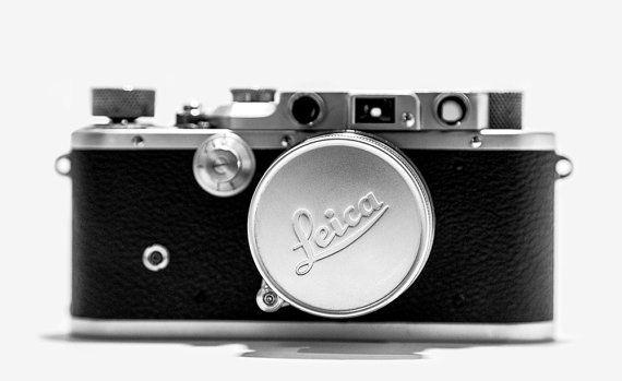Leica Leitz IIIC with collapsible lens 5cm F2 por CameraCollection