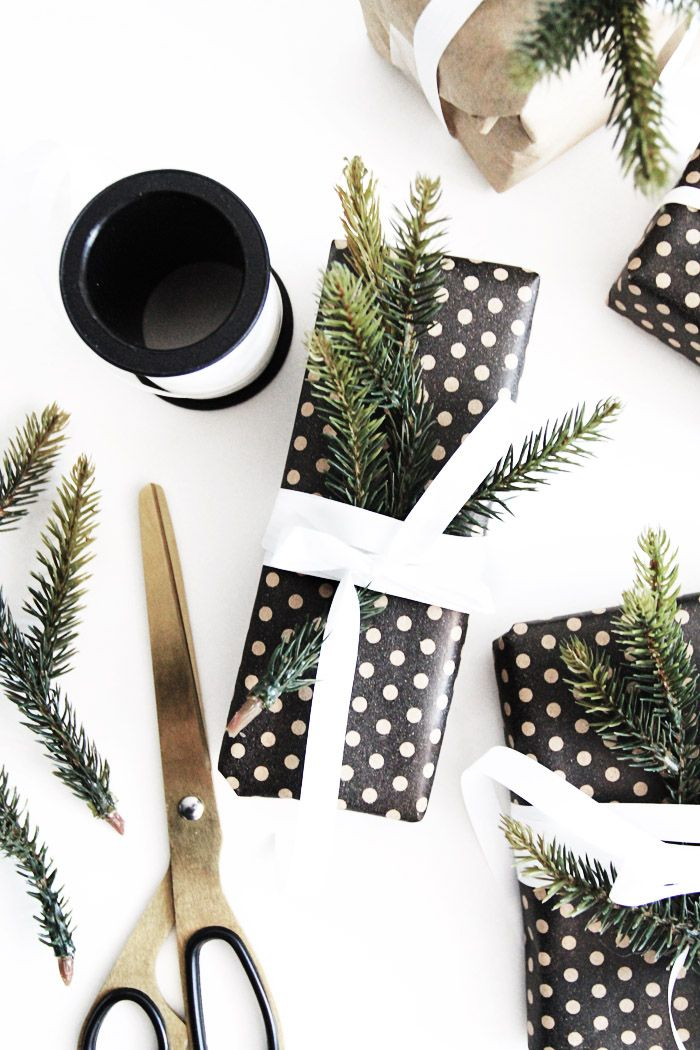 HOME | Christmas gift wrap