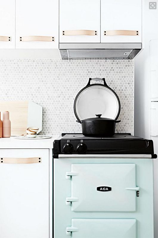 AGA City24 Cast Iron Ranges In Looks We Love: Vintage Details In The Kitchen  For