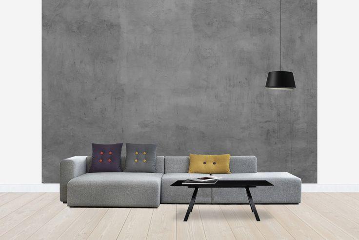 Dark Concrete Wall - Tapetit / tapetti - Photowall