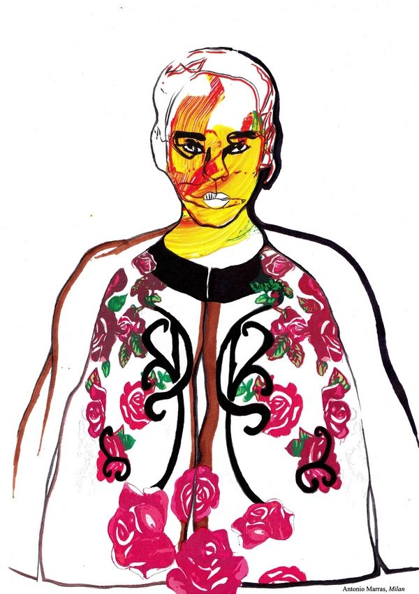 2014 1st year westminsterfashion illustration from the University of Westminster