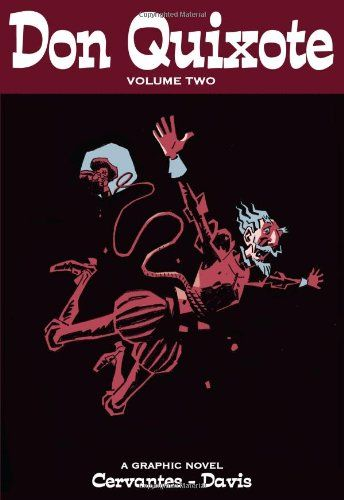 The second volume of Don Quixote is much darker than the first, picking up the story where Volume I left off and taking us to Don Quixote's death. Don Quixote battles cats, puppets and the famous Knight of the Mirrors.