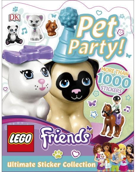 DK Discovery Day ~ Pet Party Ultimate Sticker Collection ~ GIVEAWAY!