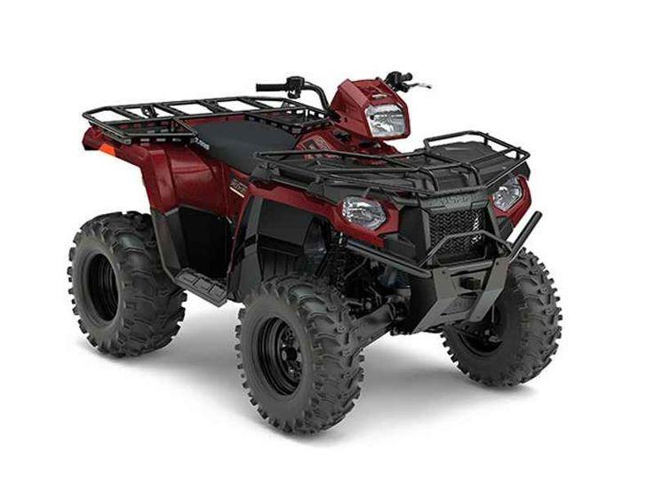 New 2017 Polaris Sportsman 570 EPS Utility Edition Maroon ATVs For Sale in North Carolina.