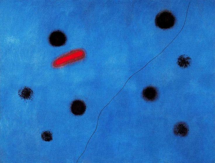 Azul pálido: la conexión cósmica y surreal entre Joan Miró y Carl Sagan - Cultura Colectiva