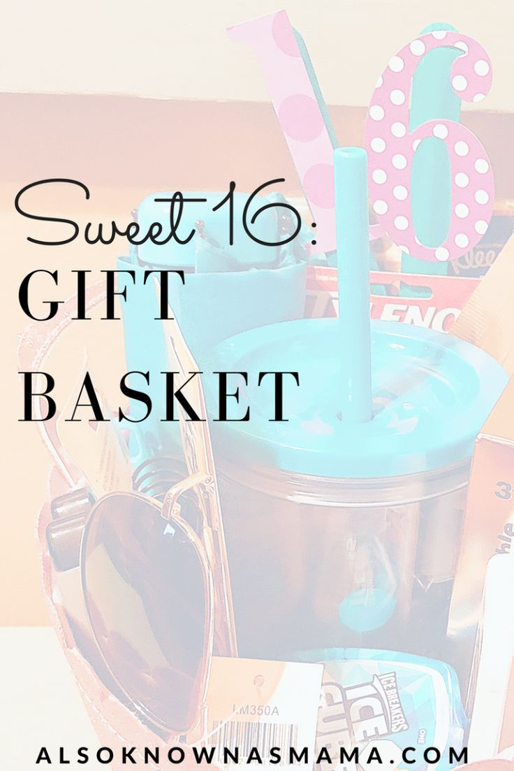 Sweet 16 Gift Basket | 16th Birthday | New Driver Gift | First Car Gift