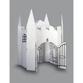 17 meilleures id es propos de ch teau en carton sur pinterest chateau boite en carton et. Black Bedroom Furniture Sets. Home Design Ideas