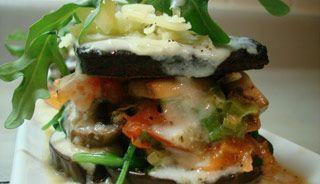 Lasagne végétarienne réinventée, tofu et aubergines #recettesduqc #vege #tofu