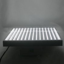 LEDwholesalers 2501WH White 225 LED 13.8 Watt Square Grow Light Panel 110 Volt.  Product Description  This panel has no ballasts to burn out like other aquarium or plant lights. It runs at a warm temperature rather than very hot which is common with most other inefficient plant lights. This more controlled running temperature reduces water evaporation and keeps rooms with tanks and plants from getting uncomfortably hot in the summer months requiring additional air conditioning.