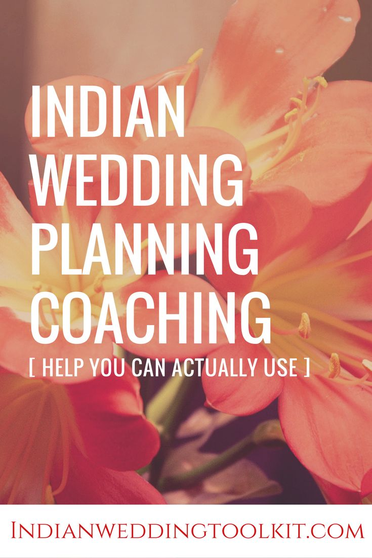 Indian wedding planners charge an arm and a leg to plan an Indian wedding – or it's at least 10% of your wedding budget. You can plan your Indian wedding for much less than what an Indian wedding planner offers and you can plan it how YOU want your special weekend to be. Click through to learn more about our Indian wedding coaching packages. Plan the indian wedding that YOU want, cheaper!