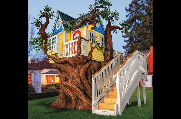 Victorian Tree House or Playhouse with by MonsterCityStudios, $69,010.00