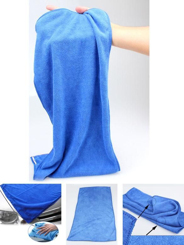 [Visit to Buy] Home Textile Towel  Super Soft Car Wipe Cloth Wash Cleaner Cleaning Towel 30X70cm Tools Color Blue  BS #Advertisement