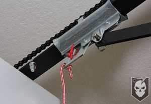 Home Security tips-put a zip tie in your garage door opener and it will prevent someone from entering. A must read.