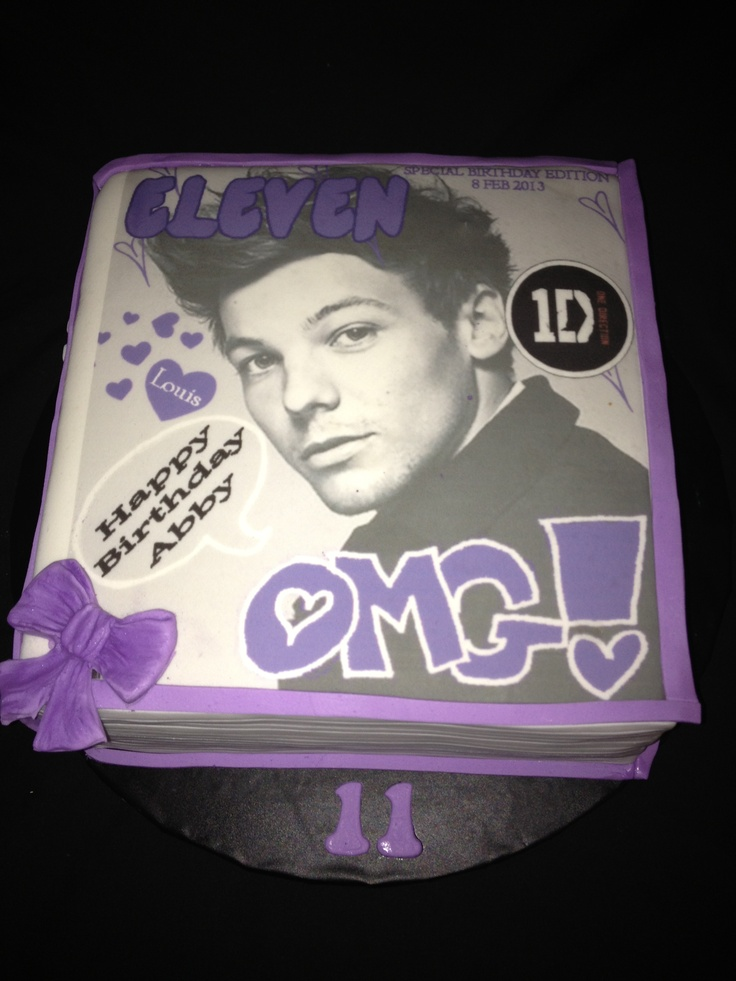 Cakes For Girls 13th Birthday One Direction | www.pixshark ...