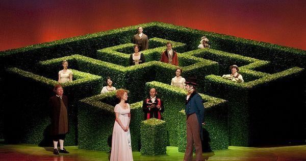 """Jane Austen's """"Emma"""" - Jane Austen's """"Emma"""" --- #Theaterkompass #Theater #Theatre #Schauspiel #Tanztheater #Ballett #Oper #Musiktheater #Bühnenbau #Bühnenbild #Scénographie #Bühne #Stage #Set"""