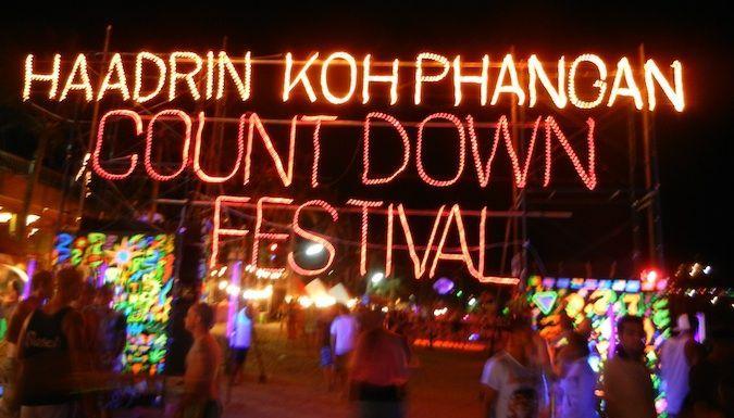Full Moon Party on Haat Rin beach in thailand #wanderlust #bucketlist