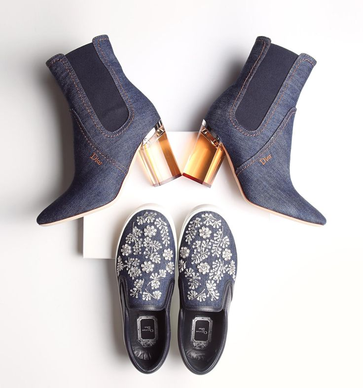 Get inspired by this season's denim trend with Dior and Savannahs.com