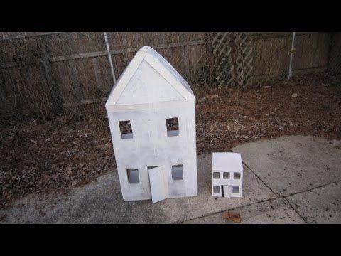 Episodio 557- Cómo hacer una casita de cartón para muñecas (dedicado a OiAnTxAbEjO )