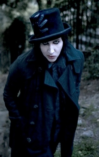 Marilyn Manson -Photography by Delaney Bishop