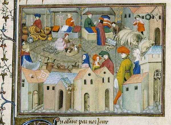 Thomas III de Saluces, Le Chevalier errant, France (Paris), vers 1400-1405     Paris, BnF, département des Manuscrits, Français 12559, fol. 167 BnF - Dossier pédagogique - L'enfance au Moyen Âge