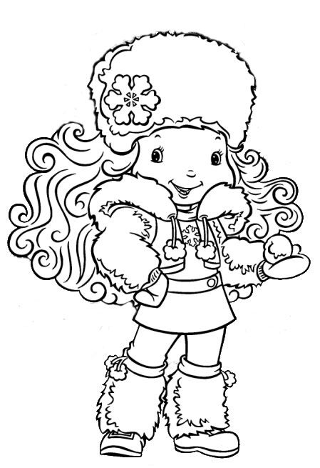 desenho moranguinho baby, colorir moranguinho baby: Cute Little Girls, Girls Winter, Winter Clothing, Shortcake Girls, Girls 449 655, Snowflakes, Jpeg Images, Moranguinho Baby, Strawberries Shortcake