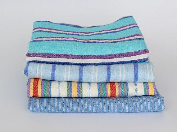 Large Linen Beach Towels Striped Flax Linen Bath Towels 100 Linen Bathroom Sheet Washed Soft Linen Beach Blanket Extra Large Size Linen Bath Towels Beach Blanket European Linens