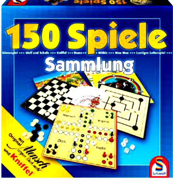 Spielesammlung verschiedener Brettspiele 150 Spielemöglichkeiten NEU