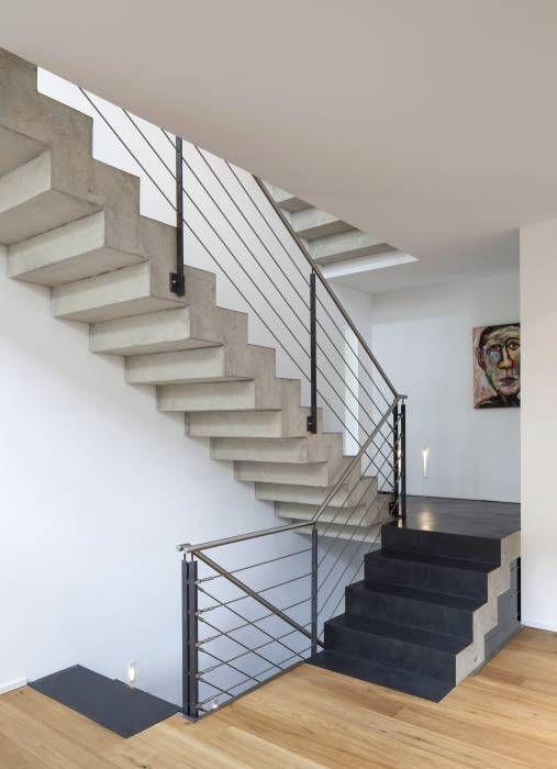 ber ideen zu betontreppe auf pinterest treppen beton cire und treppe. Black Bedroom Furniture Sets. Home Design Ideas