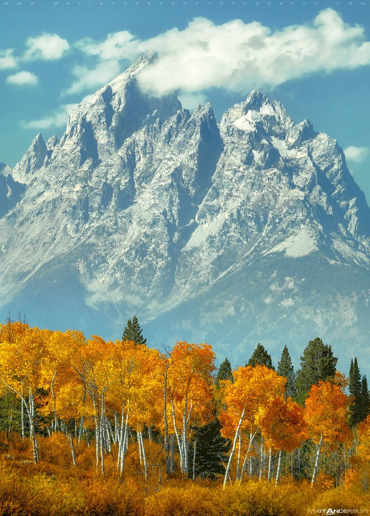 Mountain Magic (Grand Tetons, Wyoming)